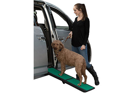 Dog Ramps for Car Side Doors - Pet Gear Travel Lite Ramp