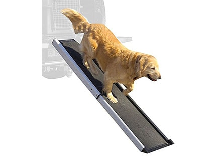 Dog Ramps for Car Side Doors - Mr Herzher Smart Dog Ramp
