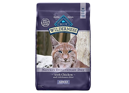 Best Cat Food For Indoor Cats - Blue wilderness dry cat food