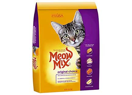 Best Cat Food For Indoor Cats - Meow Mix Dry Cat Food