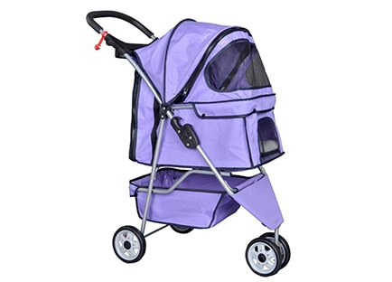 Best Pet Stroller - BestPet three Wheel Pet Stroller