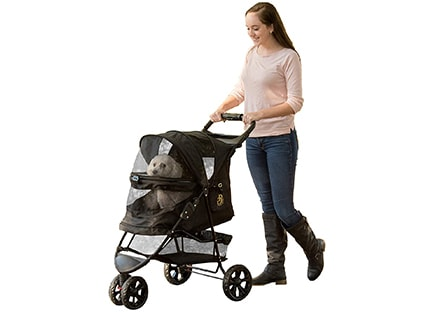 Best Pet Stroller - Pet Gear No-Zip Special Edition