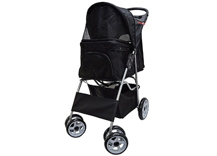 Best Pet Stroller - VIVO Four Wheel Pet Stroller