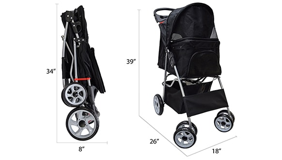Vivo pet stroller review